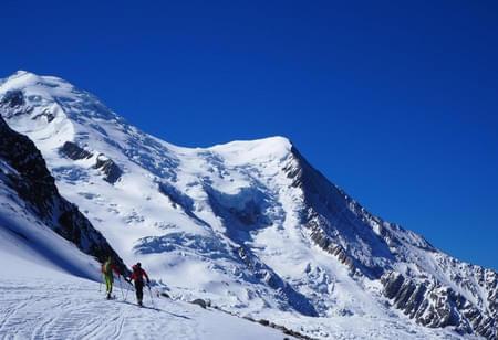 Mont-Blanc-Skibesteigung