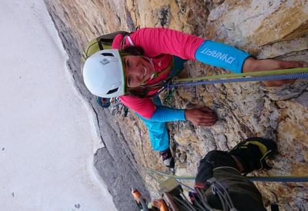 Steil-und-geil-Klettern-in-den-Dolomiten