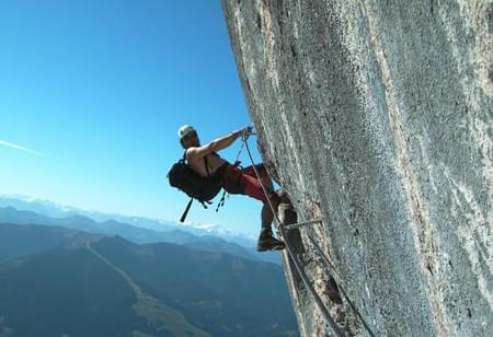Klettersteig-schwer