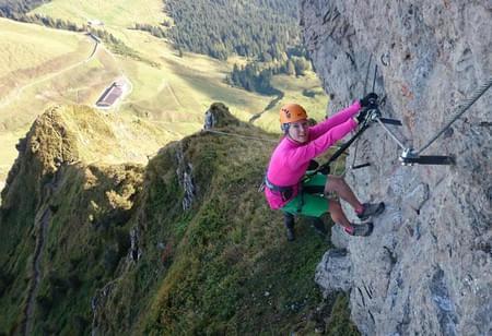 Klettersteig-mittel